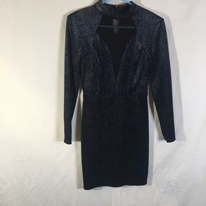 Bailey Blue Shimmery Dress! Small